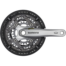 Shimano Trekking FC-T521 Octalink Crank Set 3x10-speed 48-36-26 teeth silver